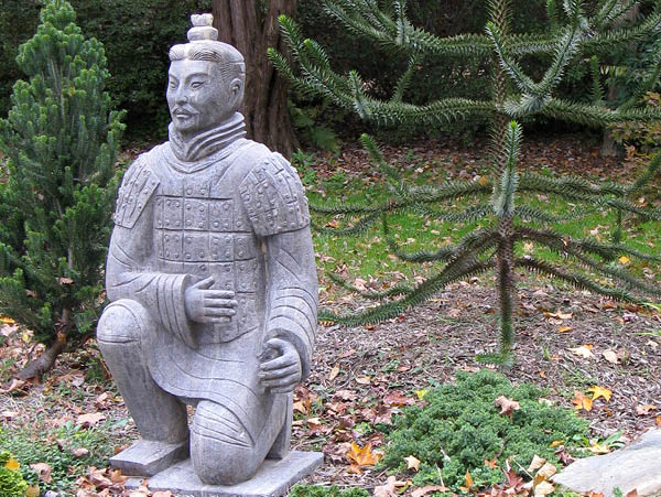 Kneeling Chinese Warrior