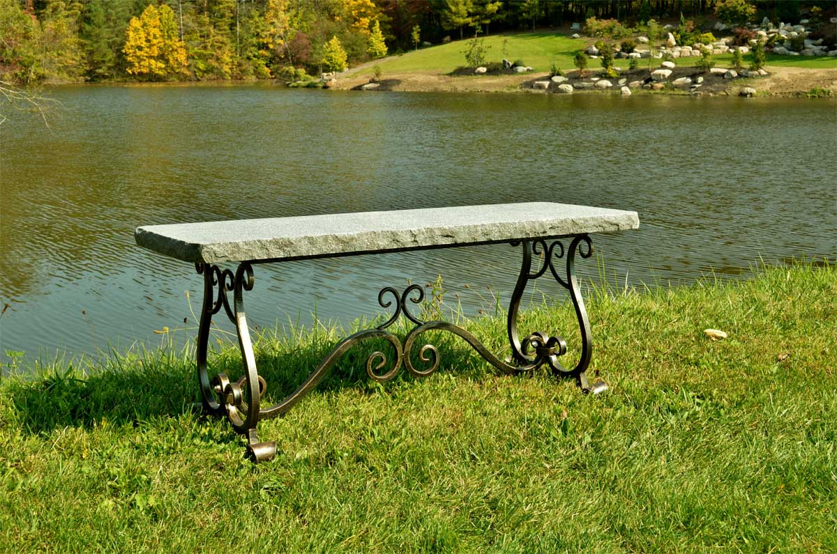Charcoal Melody Bench