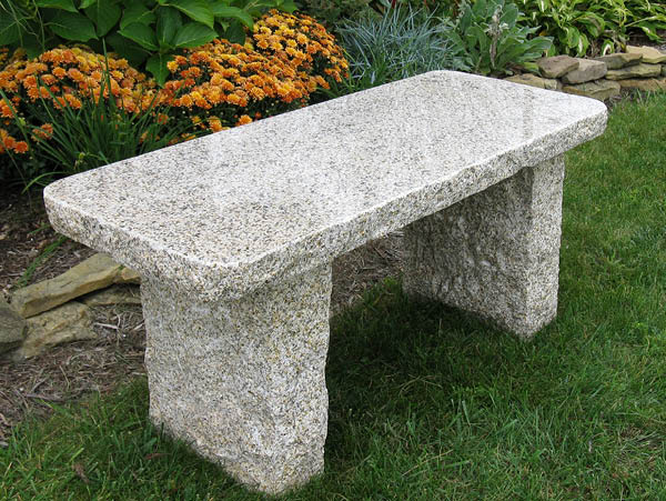 granite monument for bench backs comfort beautiful with benches std attached company orleans