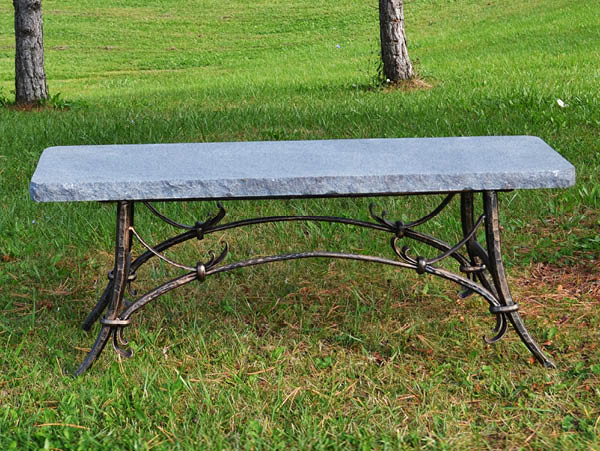 Charcoal Tuscany Bench