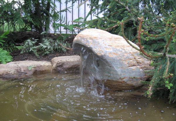 Jade & Basalt Fountain