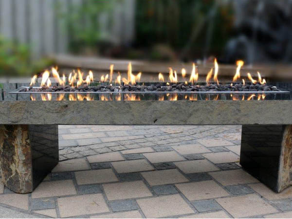 Basalt Flame Table
