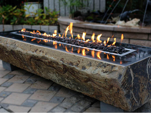Basalt Fire Table