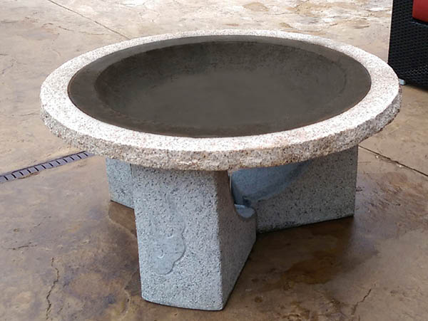 Illuminate Stone Fire Pit (without screen)