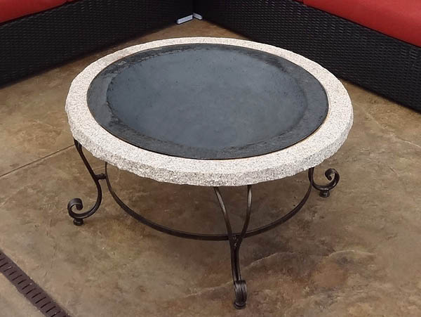 Radiance Stone Fire Pit (without screen)