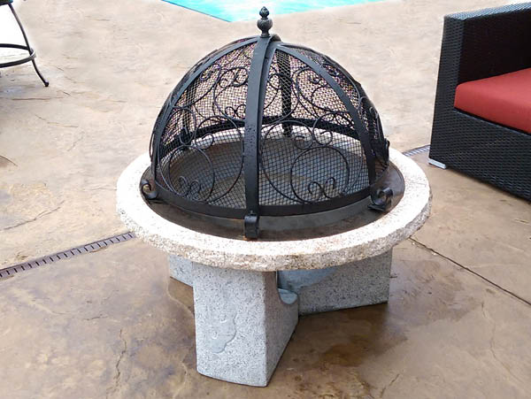 Illuminate Stone Fire Pit