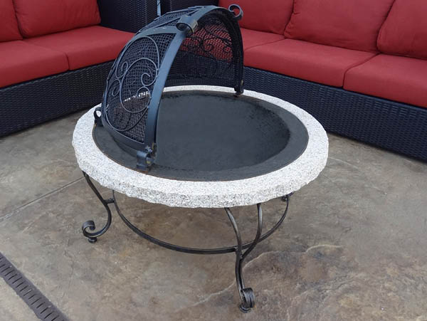 Radiance Stone Fire Pit