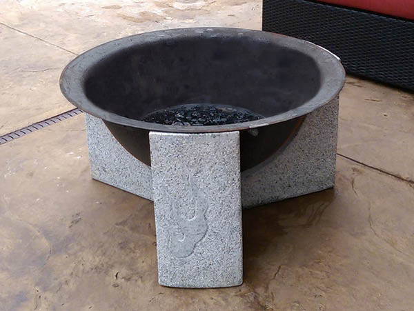Element Stone Fire Pit (without screen)