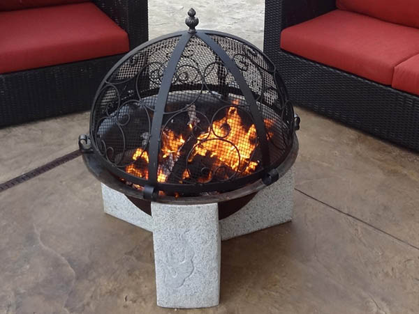 Element Stone Fire Pit