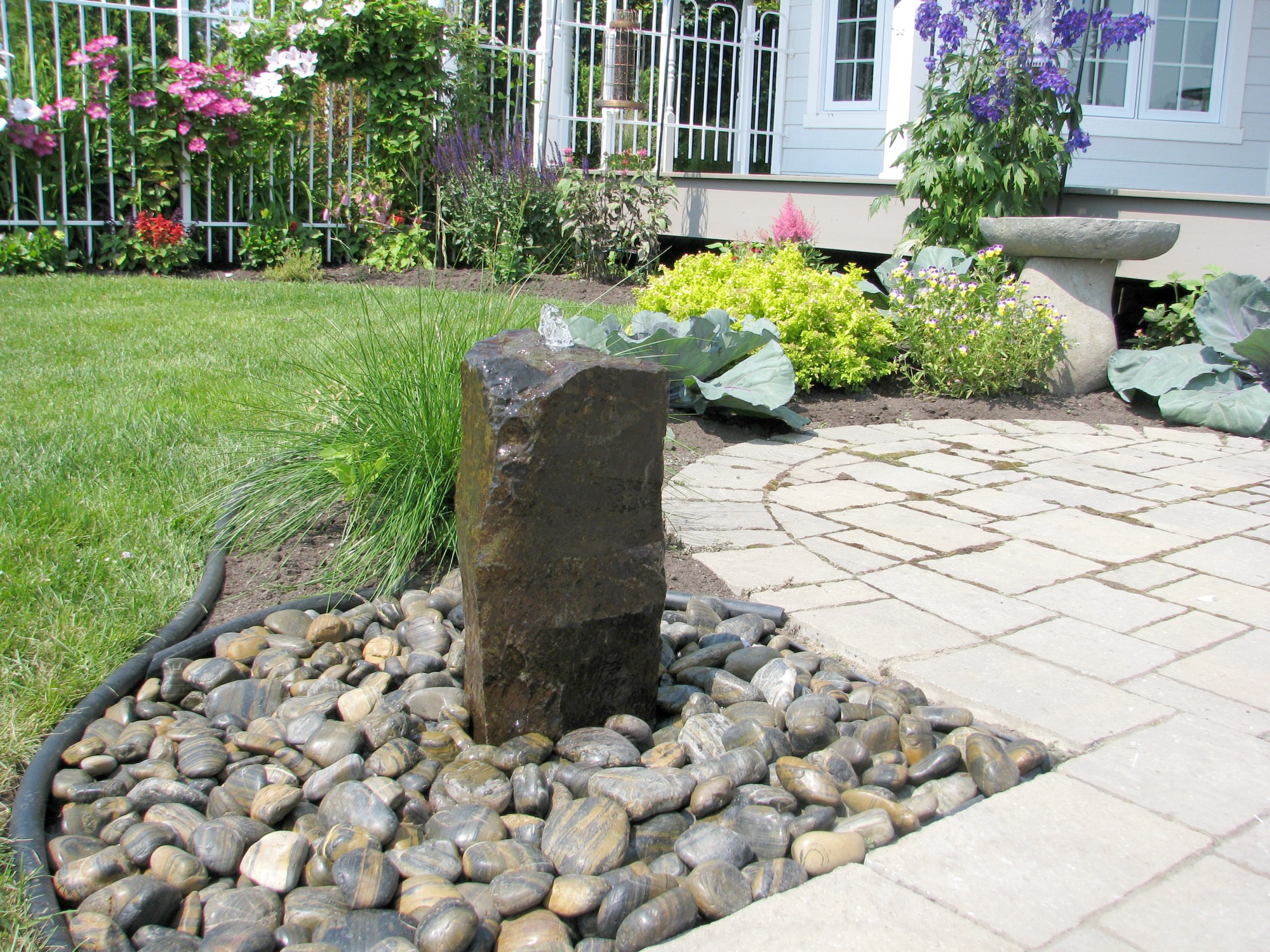 Basalt Fountain Kits Include Everything You Need To Create A Beautiful  One Of A Kind Natural Stone Fountain: The Drilled Basalt Boulder, Plastic  Basin, ...