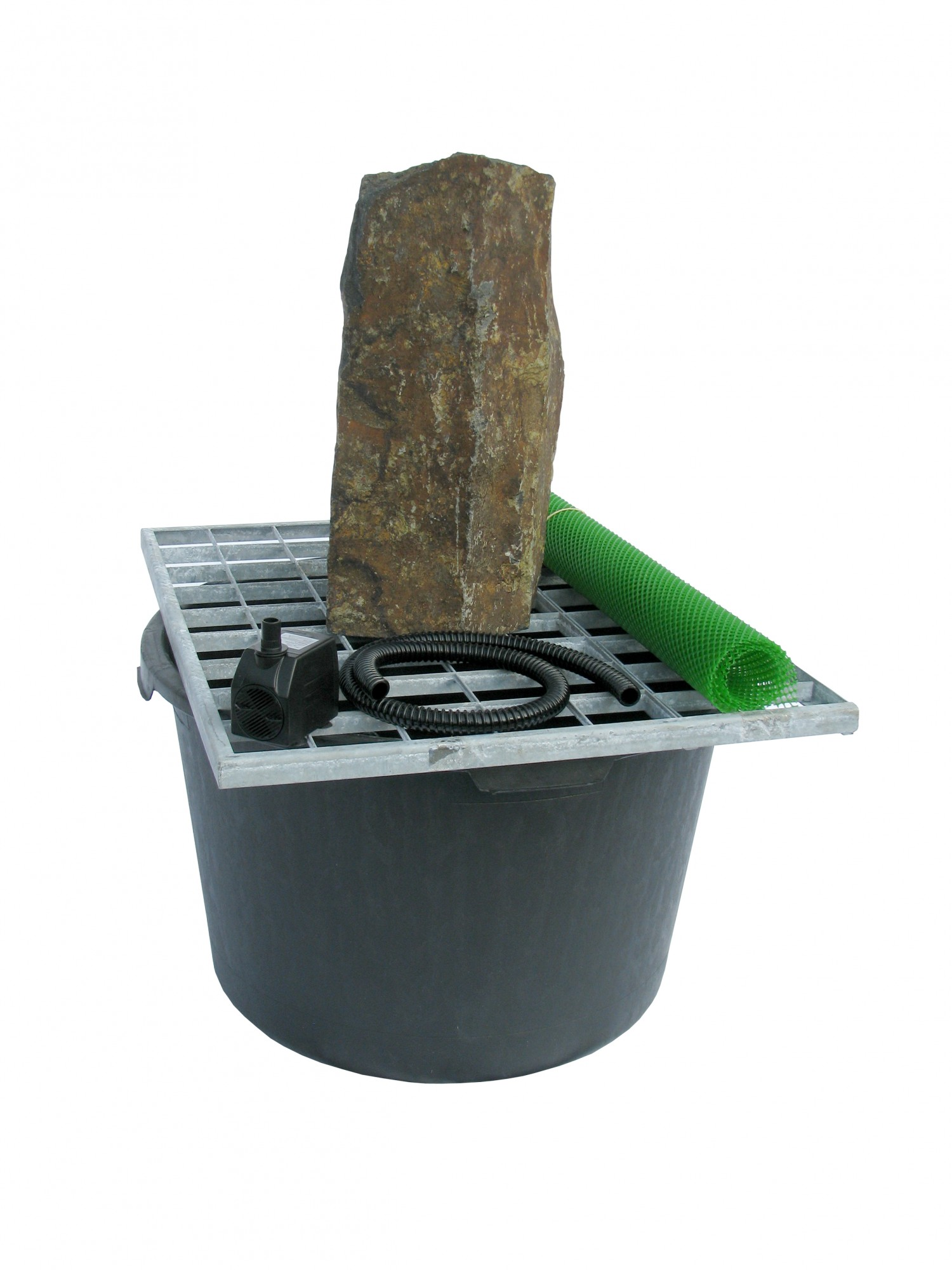 Basalt Fountain Kit By Stone Age Creations